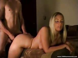 Lekkere blonde meid