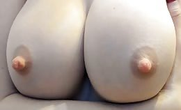 Lekkere tieten op topless cam